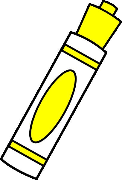 Marker clipart free clipart stock Marker Yellow Clip Art at Clker.com - vector clip art online ... clipart stock