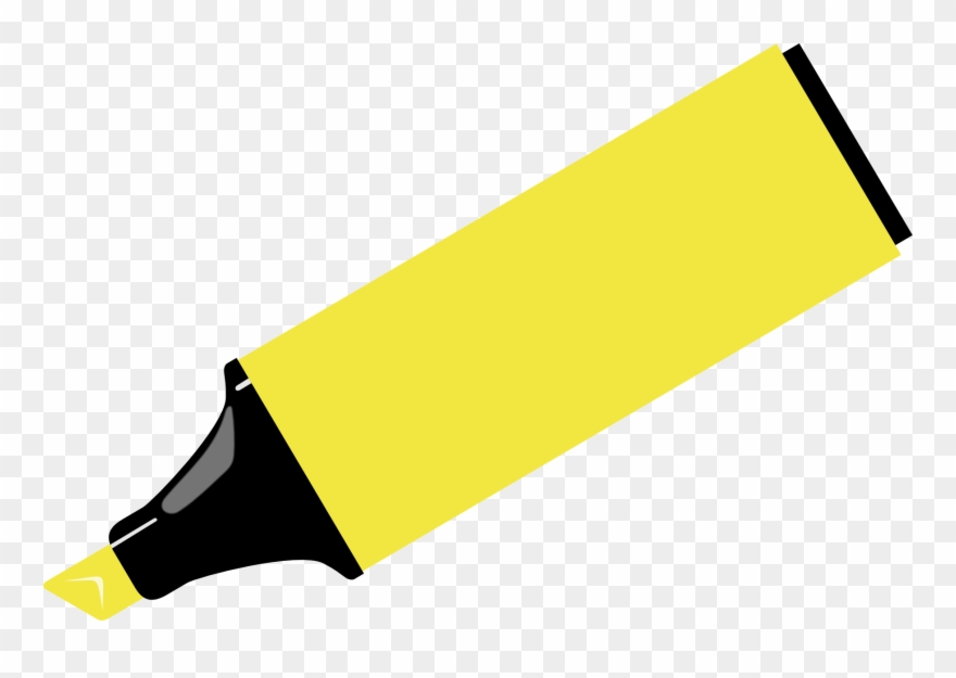 Highlighter clipart clipart freeuse Marker Pen Drawing Highlighter Clip Art - Yellow Marker Clipart ... clipart freeuse