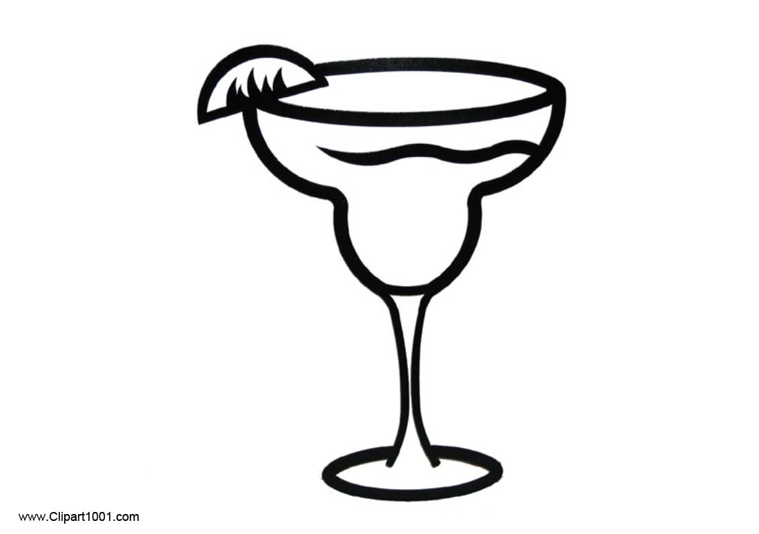Clipart margaritas graphic freeuse stock Margarita Clipart Coloring Pages - Clipart1001 - Free Cliparts graphic freeuse stock