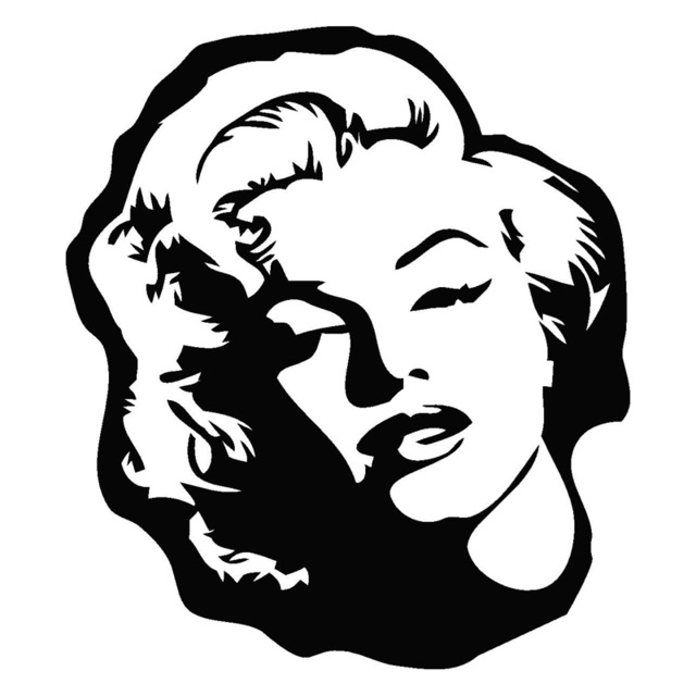 Clipart marilyn monroe graphic black and white 32+ Marilyn Monroe Clipart   ClipartLook graphic black and white
