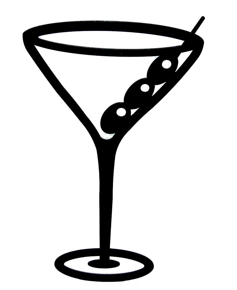 Cocktail clipart black and white black and white download 78+ Clipart Martini Glass | ClipartLook black and white download