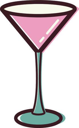 Free clipart cocktail glass clipart library stock Pink Martini Glass Clipart - Free Clip Art Images | coloring book ... clipart library stock