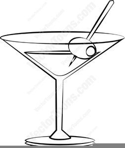 Free clipart cocktail glass clip art download Clipart Martini Glass With Olive | Free Images at Clker.com - vector ... clip art download
