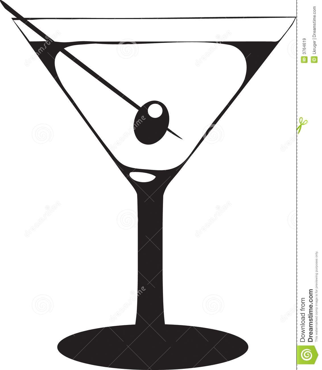 Clipart martini glass with olive picture black and white 97+ Martini Glass Clip Art   ClipartLook picture black and white