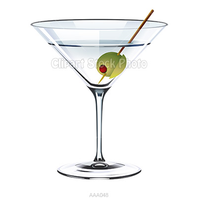 Clipart martini glass with olive png library stock Cartoon Martini Glass   Free download best Cartoon Martini Glass on ... png library stock