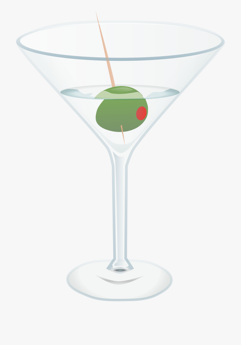 Clipart martini glass with olive free library Martini Glass Free To Use Clip Art - Drink With An Olive, Cliparts ... free library