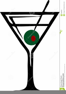 Clipart martini glass with olive image free Martini Olive Clipart   Free Images at Clker.com - vector clip art ... image free