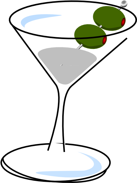 Clipart martini glass with olive free HD Small - Martini Clip Art Transparent PNG Image Download - Trzcacak free