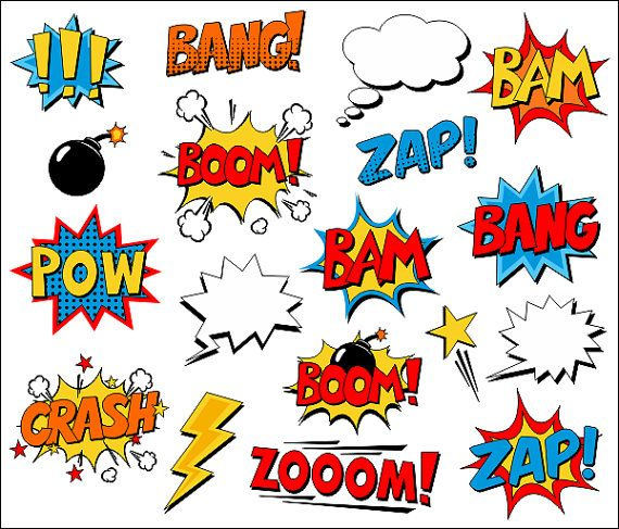 Clipart marvel comics clip art black and white Marvel comics clipart border - ClipartFox clip art black and white