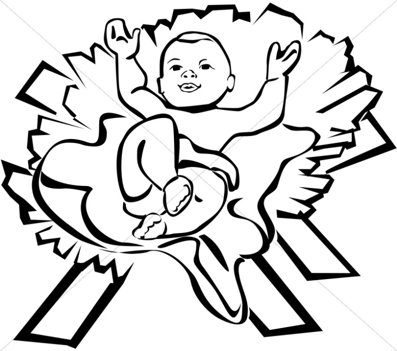 Clipart mary and baby jesus freeuse stock Mary joseph and baby jesus silhouette nativity clipart - Clipartix freeuse stock
