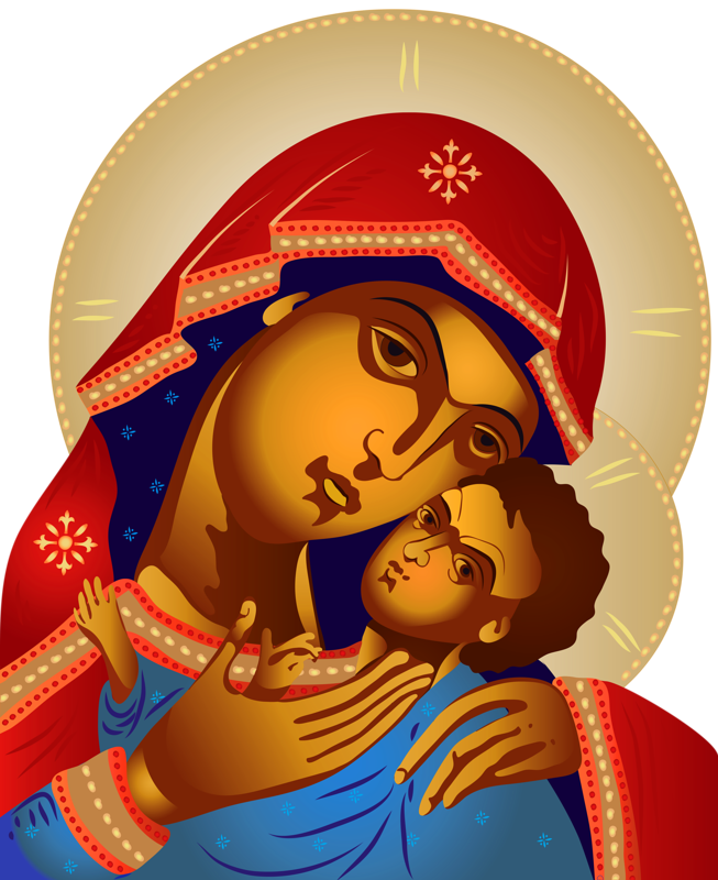 Mary and jesus clipart picture black and white download Fotolia_31570061_Subscription_V.png picture black and white download