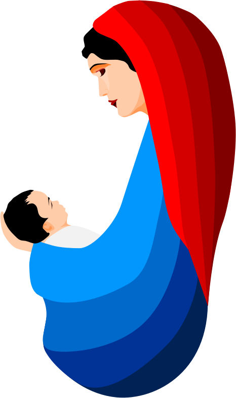 Clipart mary and jesus clipart freeuse library Mother mary and jesus clipart - ClipartFox clipart freeuse library