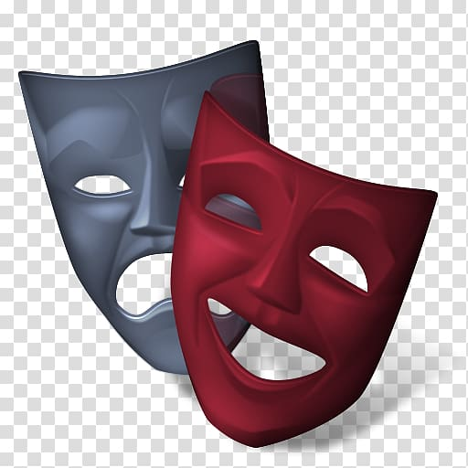 Clipart mask effect clipart library stock Red and gray masks, Theatre Cinema Icon, mask transparent background ... clipart library stock
