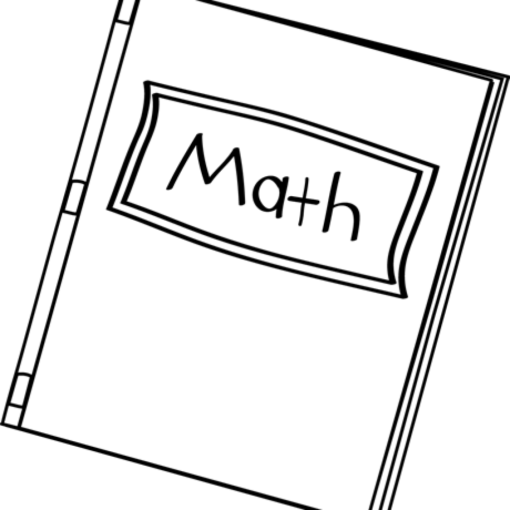 Math book clipart black and white clipart library stock Math Clipart Black And White snowman clipart hatenylo.com clipart library stock