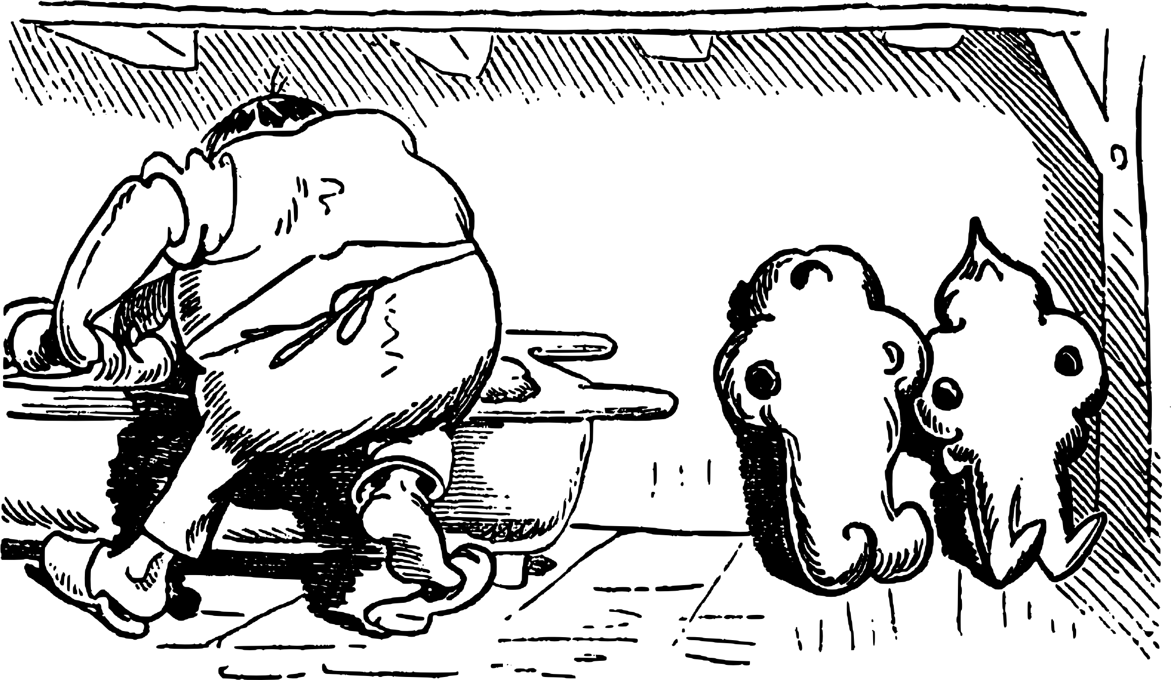 Clipart max und moritz black and white Clipart - Max und Moritz - Busch 078 black and white