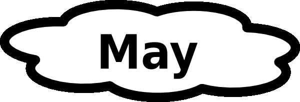 Clipart may calendar svg library May Calendar Sign Clip Art at Clker.com - vector clip art online ... svg library
