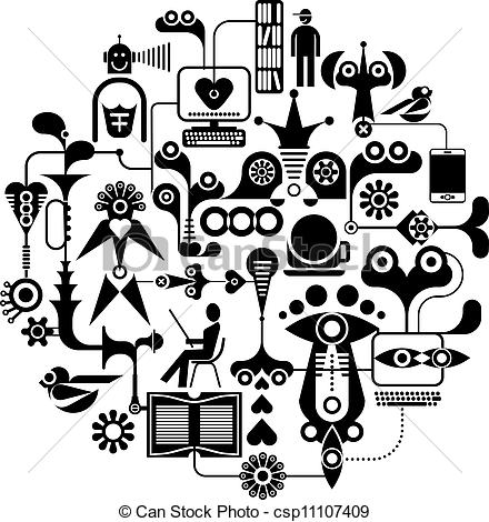 Clipart media png black and white stock Media Clip Art Page 1 png black and white stock