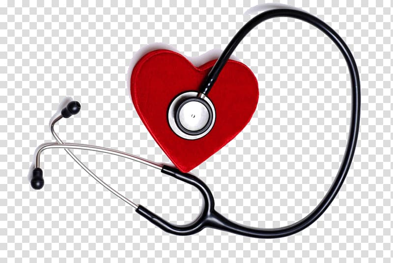 Clipart medical heart picture stock Red stethoscope illustration, Health Care Medicine Heart Myocardial ... picture stock