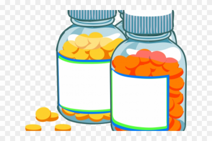 Clipart medicatiopn clip library library Tablet Clipart Medication Safety - Pill Bottle, HD Png Download ... clip library library
