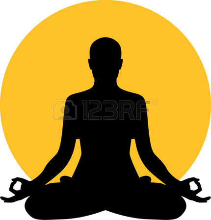 Clipart meditate clip library stock Meditation Clipart & Look At Clip Art Images - ClipartLook clip library stock