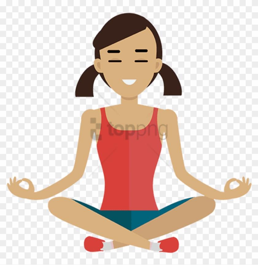 Clipart meditation