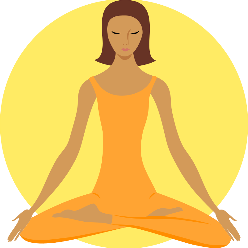 Clipart meditate picture royalty free library Free Clipart: Meditating Buddhist   qubodup picture royalty free library