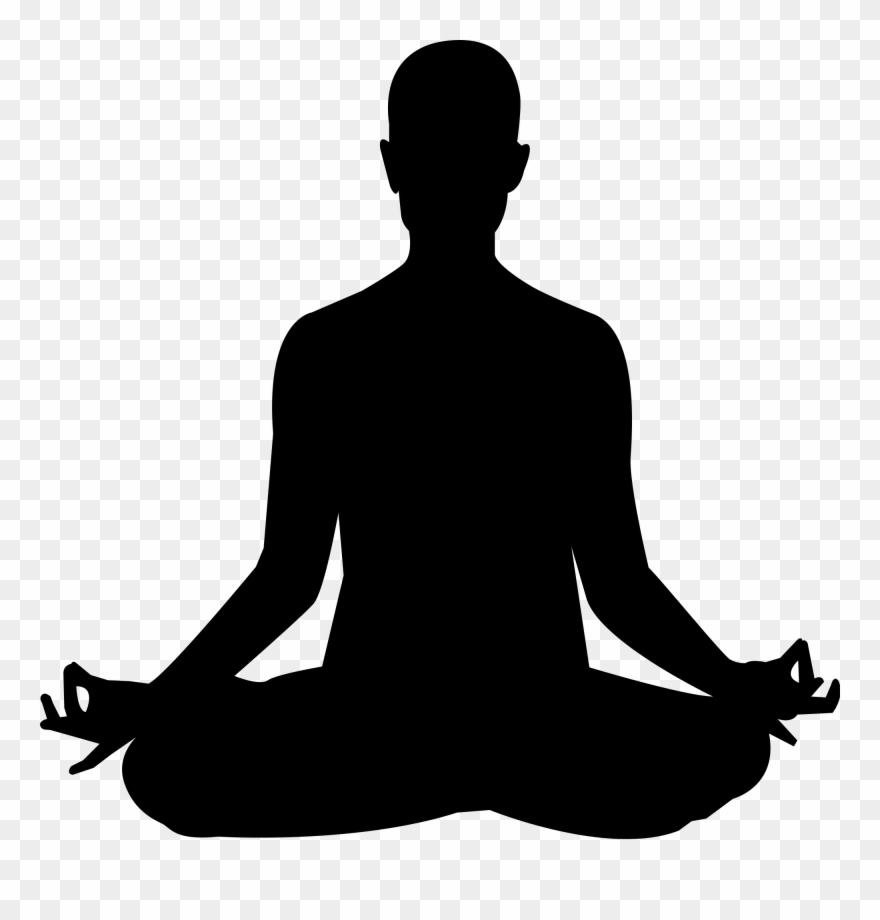 Free tea meditation cliparts picture transparent Yoga Meditation Silhouette Clip Art - Png Download (#2395291 ... picture transparent