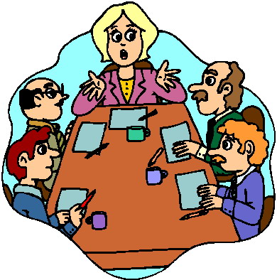 Teachers meeting clipart graphic royalty free library Meeting Clipart | Clipart Panda - Free Clipart Images graphic royalty free library