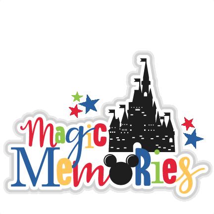 Clipart memories image freeuse download Magic Memories Title SVG scrapbook cut file cute clipart files for ... image freeuse download