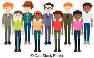 Clipart men banner freeuse library Middle aged men Clipart and Stock Illustrations. 5,665 Middle aged ... banner freeuse library