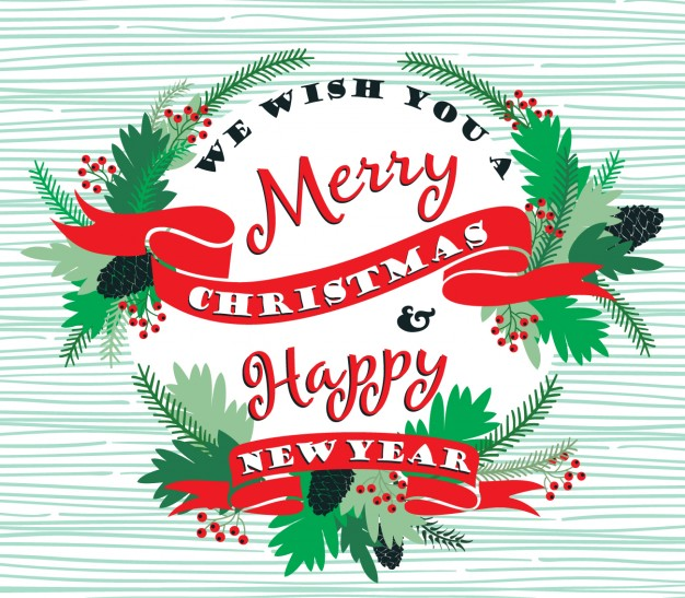 Clipart merry christmas and happy new year 2018 clip art royalty free stock Merry Christmas & Happy New Year – Rabotvins clip art royalty free stock