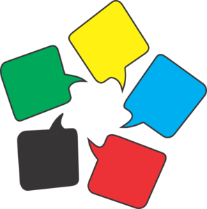 Clipart message clip art royalty free Colored Message Bubbles Clip Art at Clker.com - vector clip art ... clip art royalty free