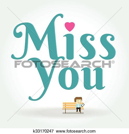 Clipart message boy image free stock Clip Art of miss you postcard. boy Writing Text Message on phone ... image free stock