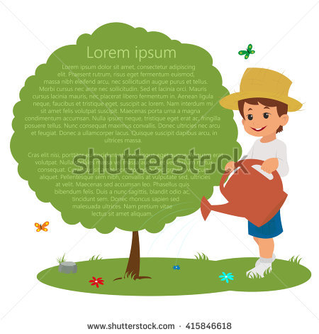 Clipart message boy jpg Schoolboy Pointing At A Poster. Ready For Your Message. Boy ... jpg
