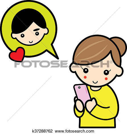 Clipart message boy png freeuse download Clip Art of message from boy friend k37288762 - Search Clipart ... png freeuse download