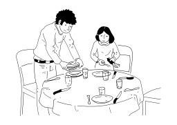 Clipart mettre la table vector freeuse download Mettre la table clipart 1 » Clipart Station vector freeuse download