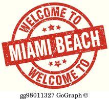 Clipart miami beach jpg Miami Beach Clip Art - Royalty Free - GoGraph jpg