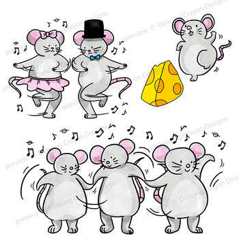 Clipart mice image Clip Art of Dancing Mice | Clipart Mouse Dance image