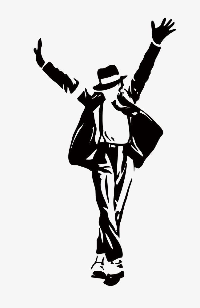 Michael jackson silhouette clipart