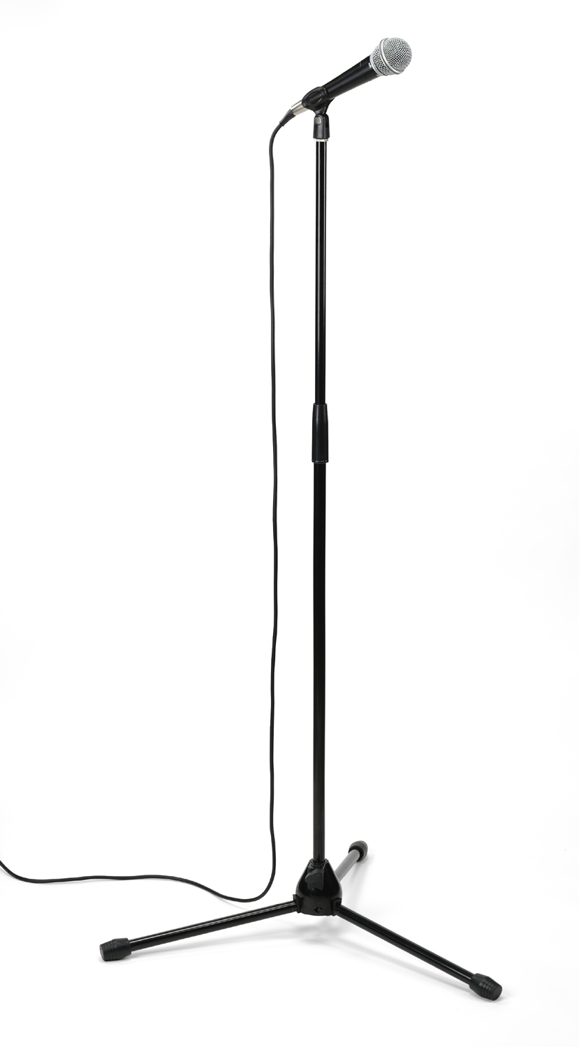 Microphone stand clipart picture transparent stock Microphone Stand Clip Art | Clipart Panda - Free Clipart Images picture transparent stock