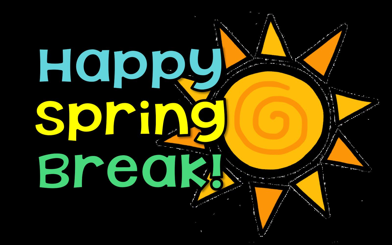 School announcements clipart vector freeuse Happy Spring Break! - Memorial Middle School vector freeuse
