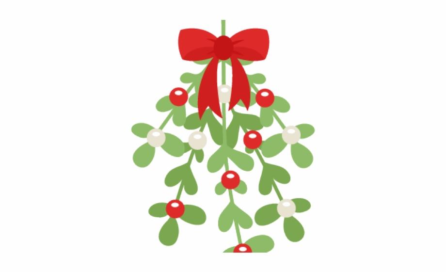 Mistlrtoe clipart vector freeuse Christmas Ball Clipart Mistletoe - Cute Mistletoe Clipart Free PNG ... vector freeuse