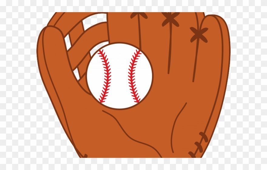 Softball with bat and glove clipart svg royalty free stock Tail Clipart Softball - Clip Art Baseball Mitt - Png Download ... svg royalty free stock