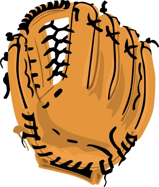 Mit clipart clip art transparent stock Baseball Glove clip art Free vector in Open office drawing svg ... clip art transparent stock