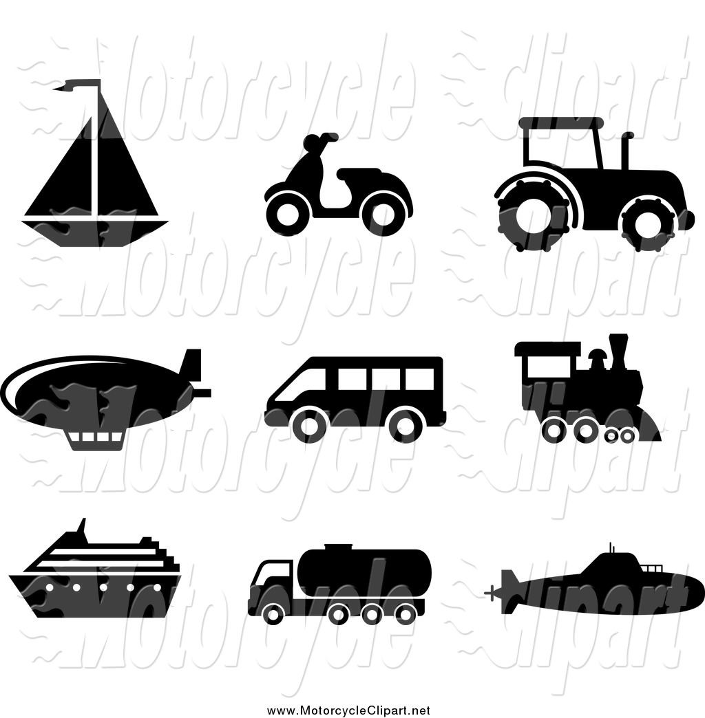 Clipart mode gratuit banner library stock Mode of transport clipart - ClipartFest banner library stock