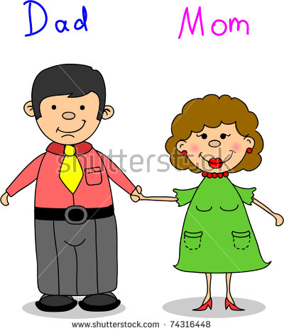 Clipart of mom and dad graphic black and white 104+ Mom And Dad Clipart | ClipartLook graphic black and white