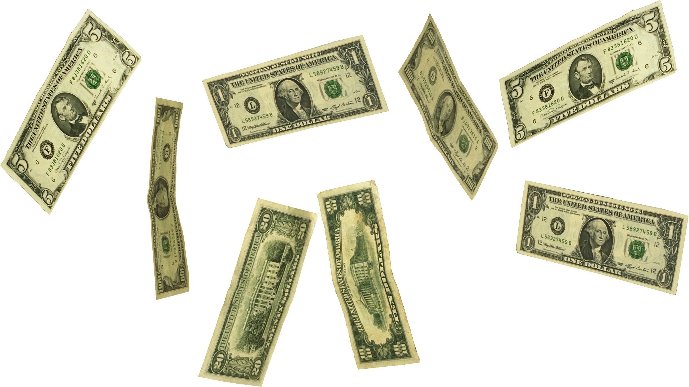 Money clipart flying picture free stock Falling money PNG images free download picture free stock
