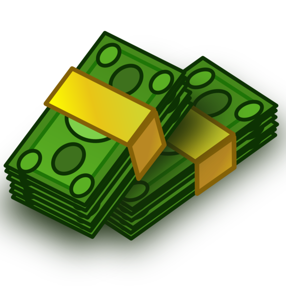 Money moving clipart clipart Clipart Of Money - clipart clipart