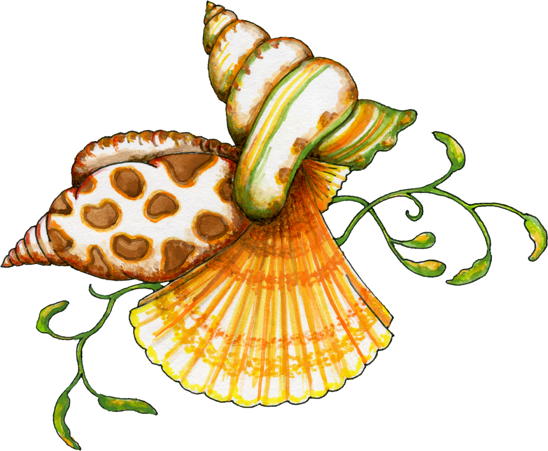 Sea shells star fishon beach clipart png transparent library Free Transparent PNG files and Paint Shop Pro Tubes | Pinterest ... png transparent library