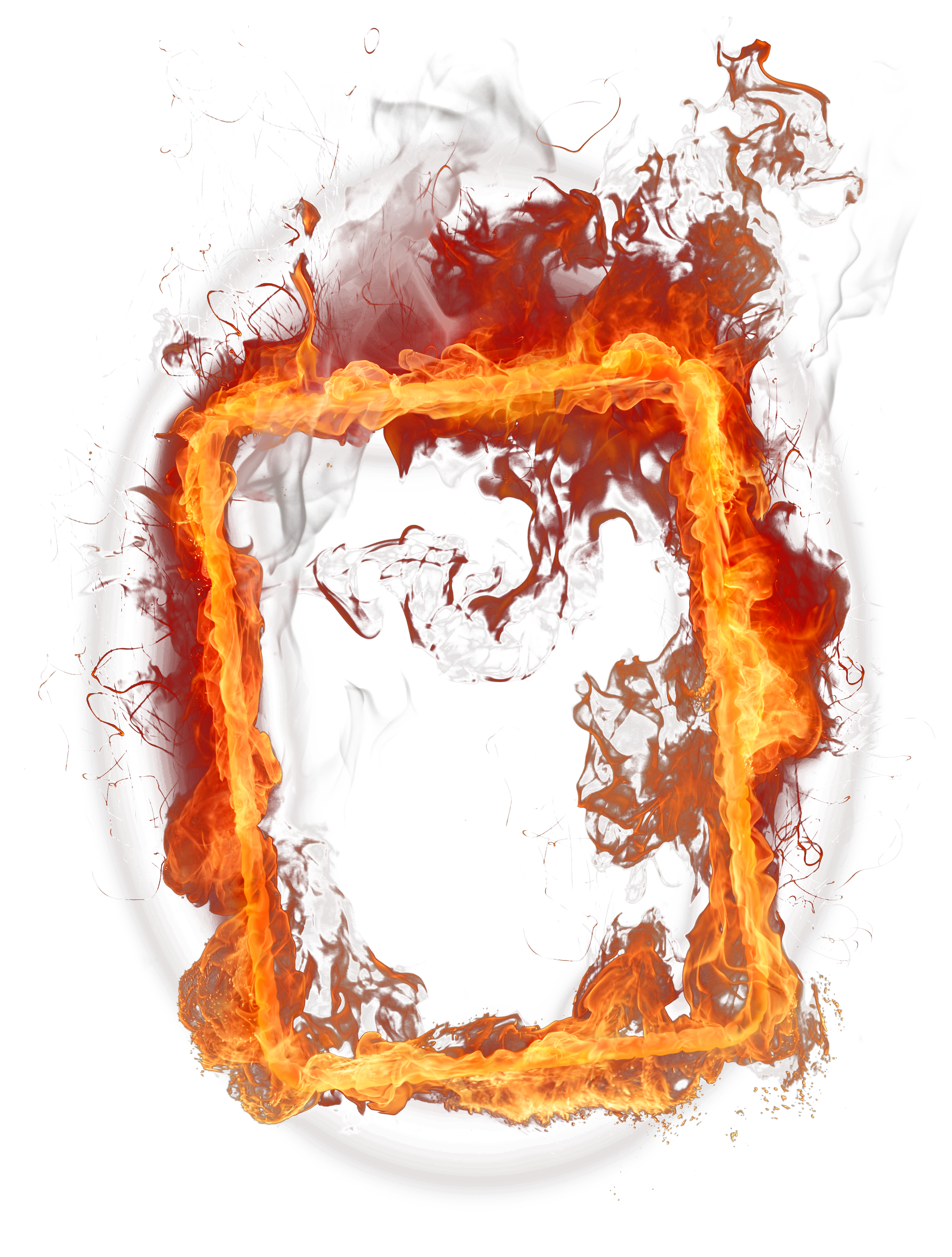 Clipart money on fire picture Fire One | Isolated Stock Photo by noBACKS.com picture